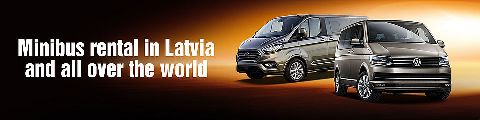 Minibus rental in Riga, Latvia and all over the world with Sixt