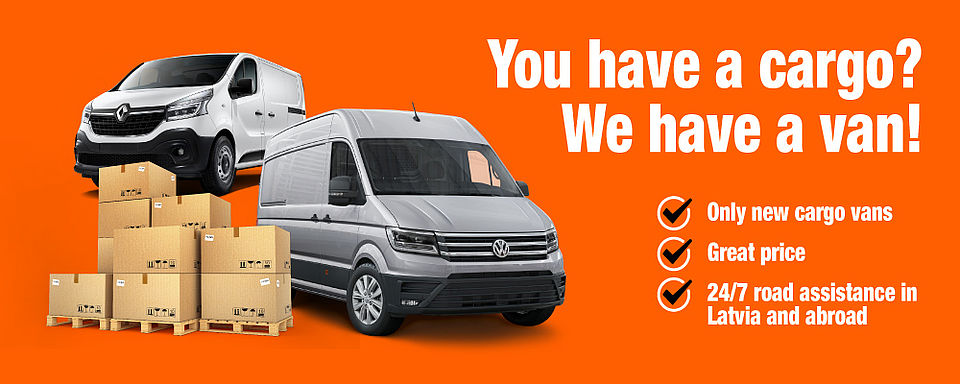Van rental in Riga, Latvia and all over the world with Sixt