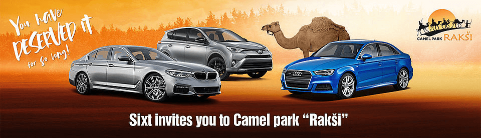 Camel park Rakši | Sixt rent a car